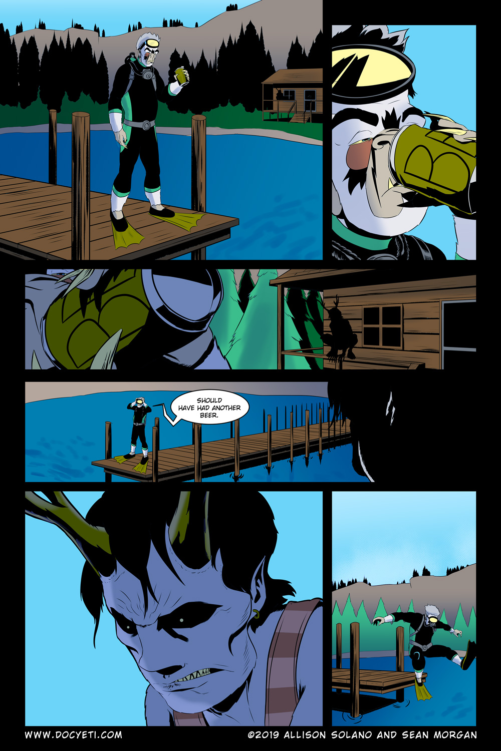 Hungry Eyes! Part 1 Page 8