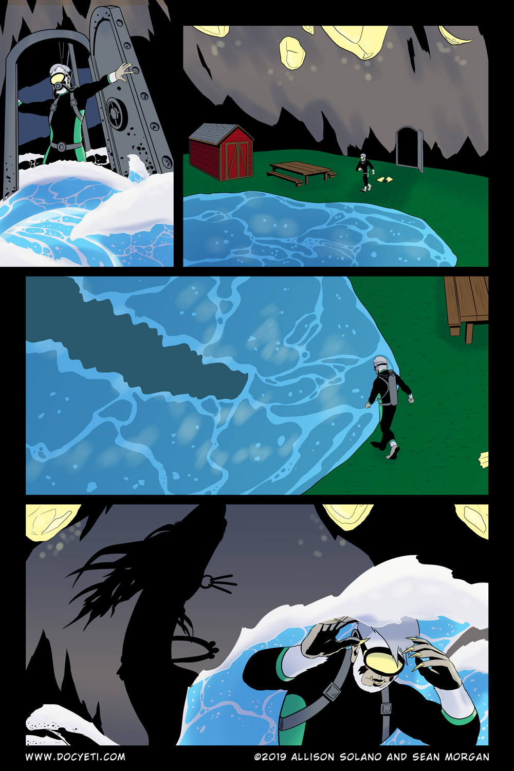 Hungry Eyes! Part 1 Page 12