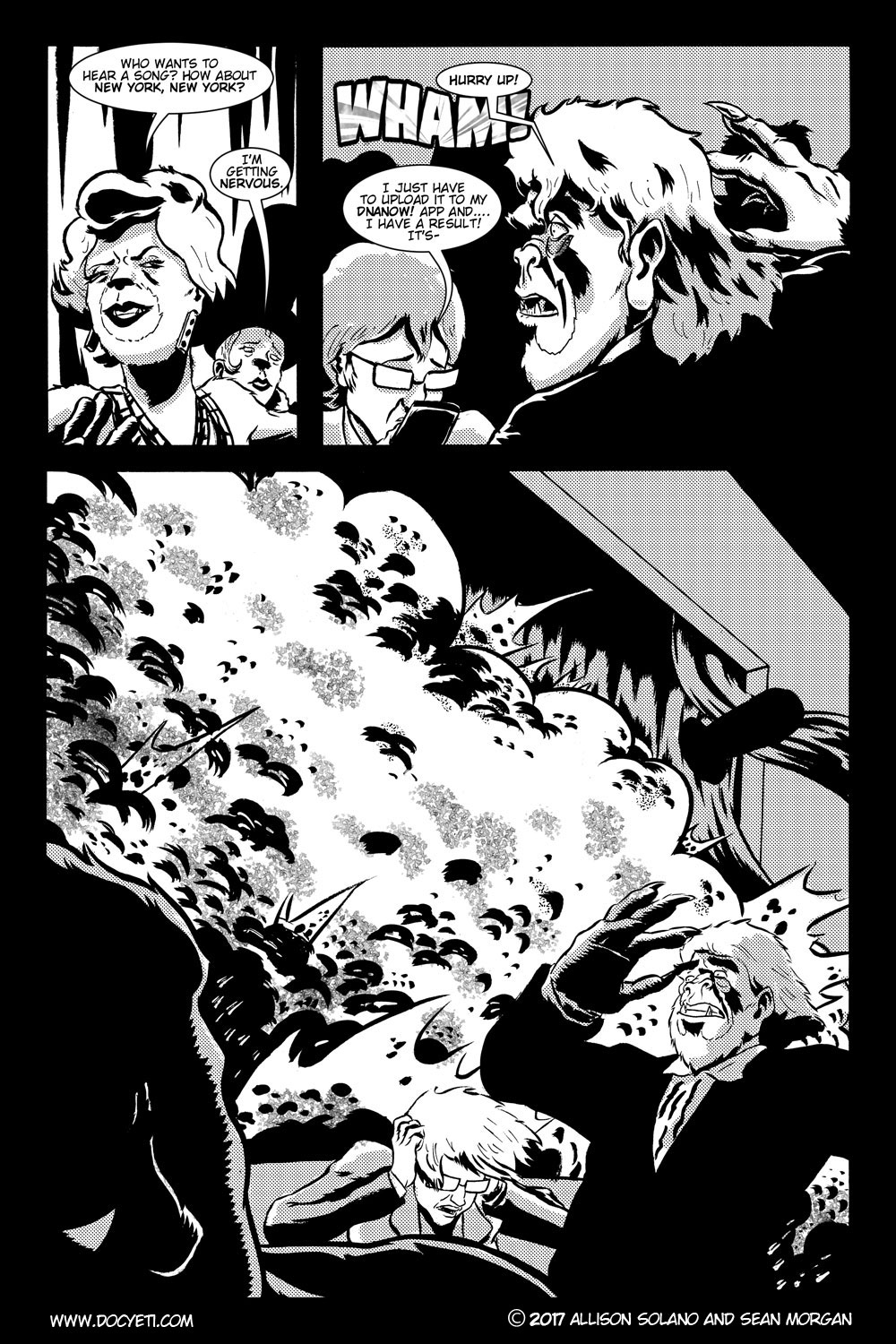 This Yeti for Hire! or the Yeti with the Lace Kerchief! Issue 3 pg.12
