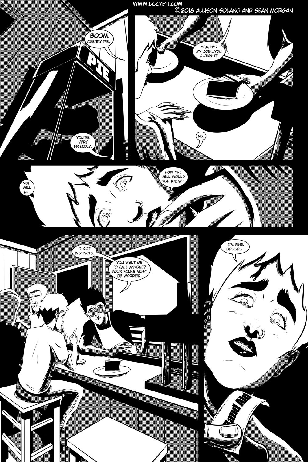 Flight of the Mothman! Issue 2 page 6