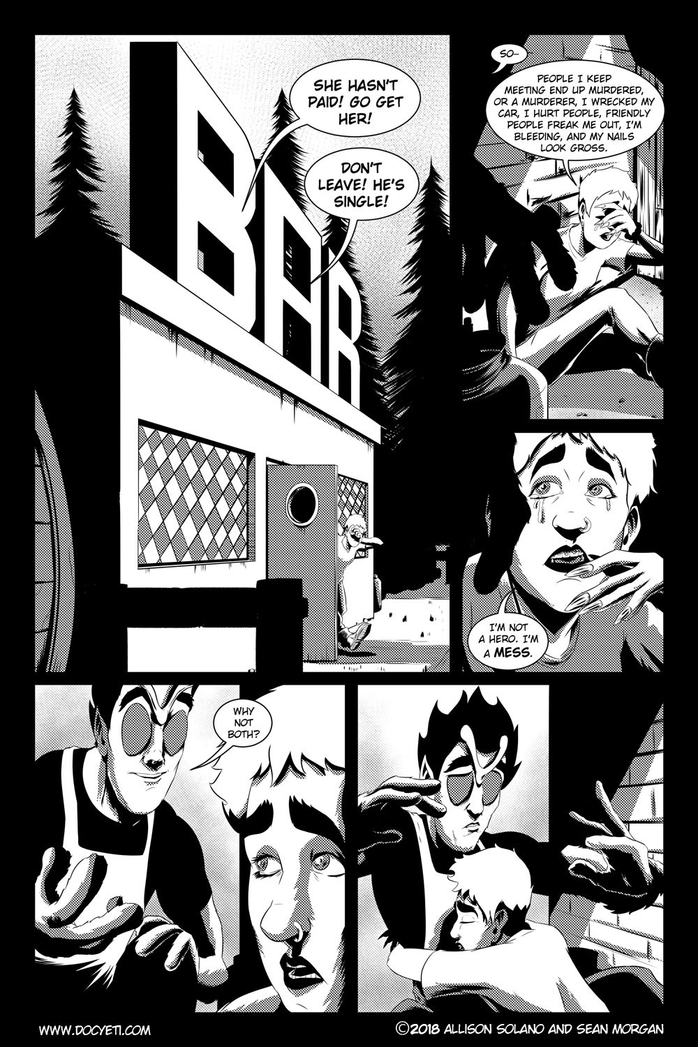 Flight of the Mothman! Issue 2 page 12