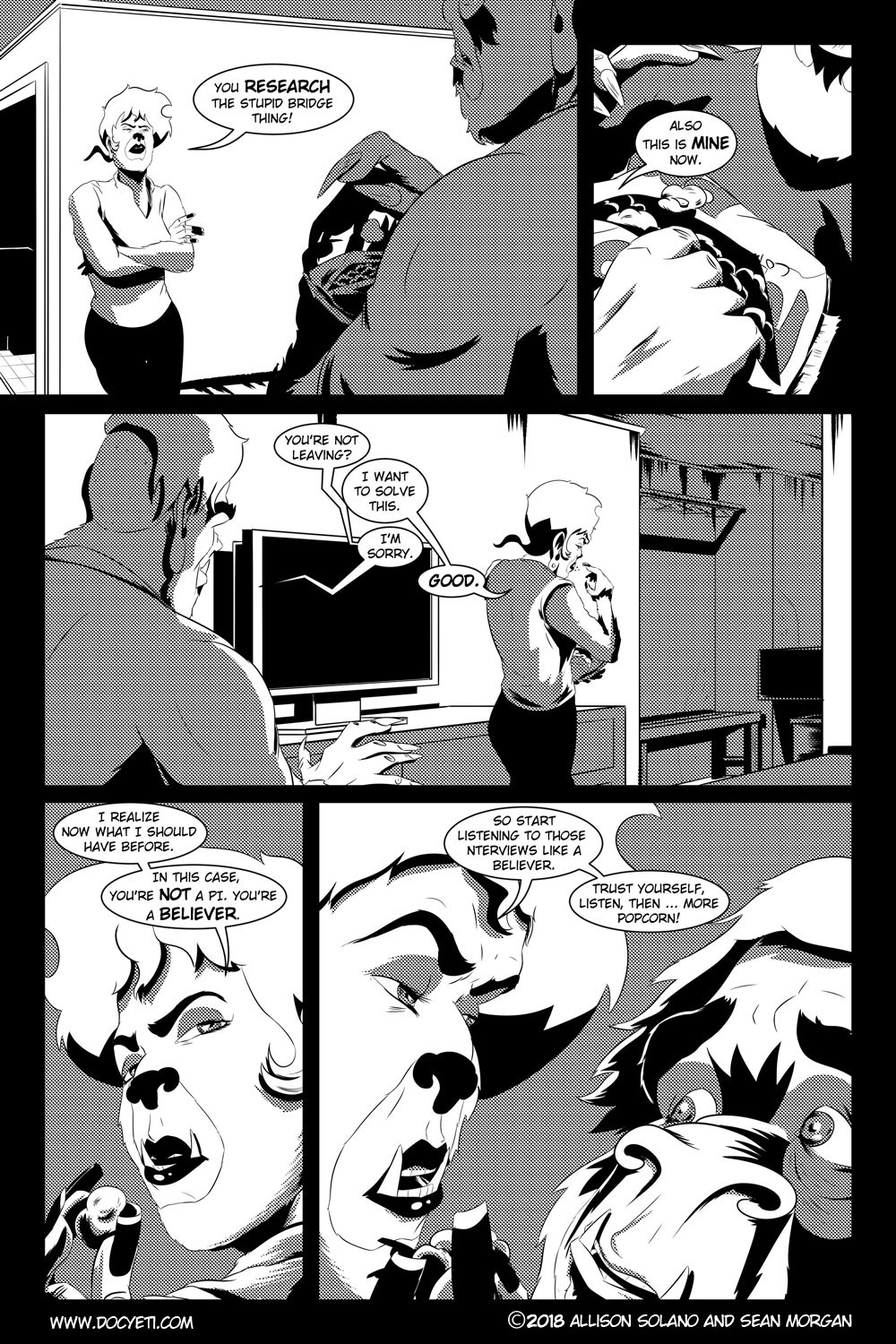 Flight of the Mothman! Issue 2 page 16