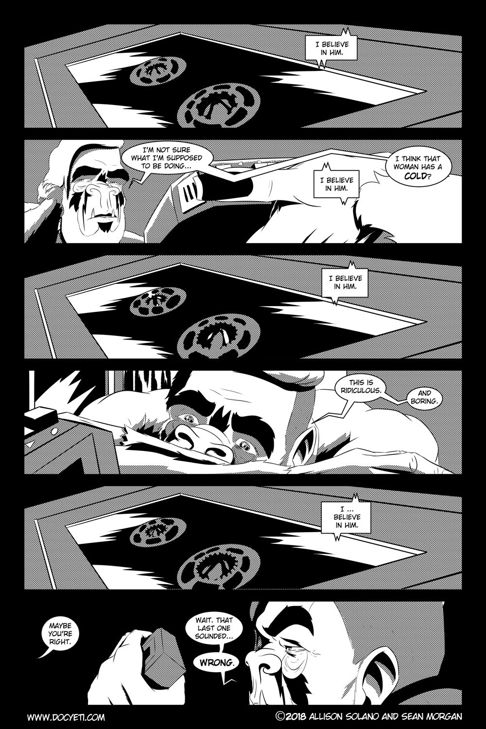 Flight of the Mothman! Issue 2 page 17