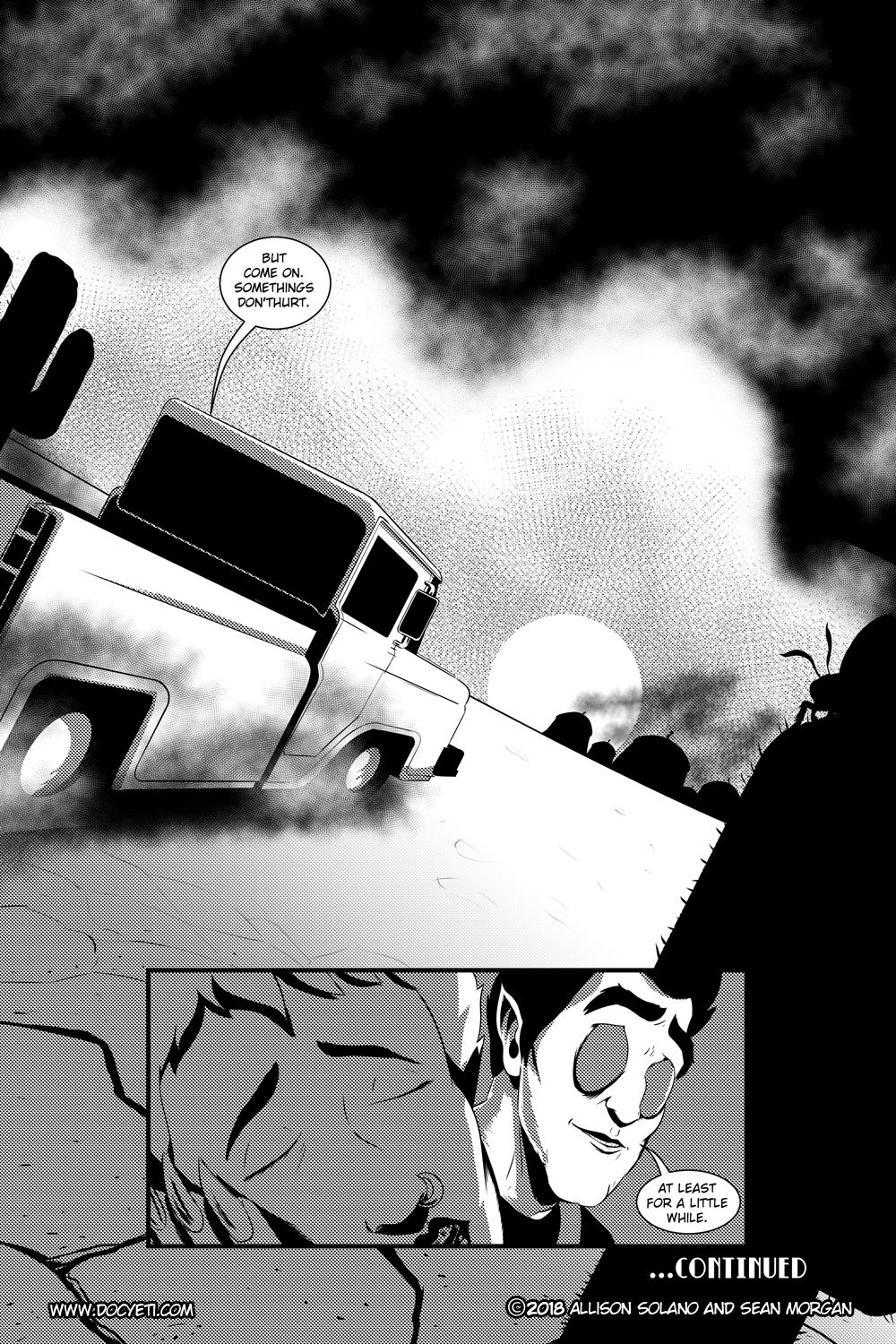 Flight of the Mothman! Issue 2 page 22