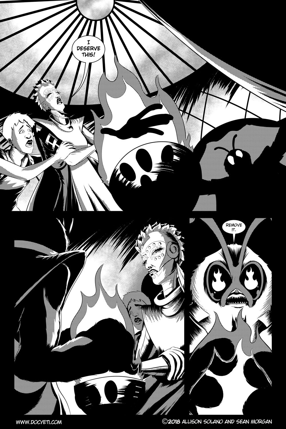 Flight of the Mothman! Issue 3 page 5