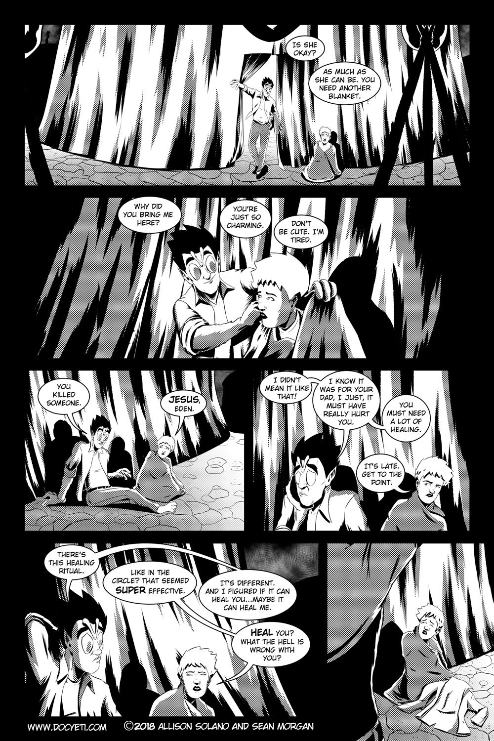 Flight of the Mothman! Issue 3 page 11