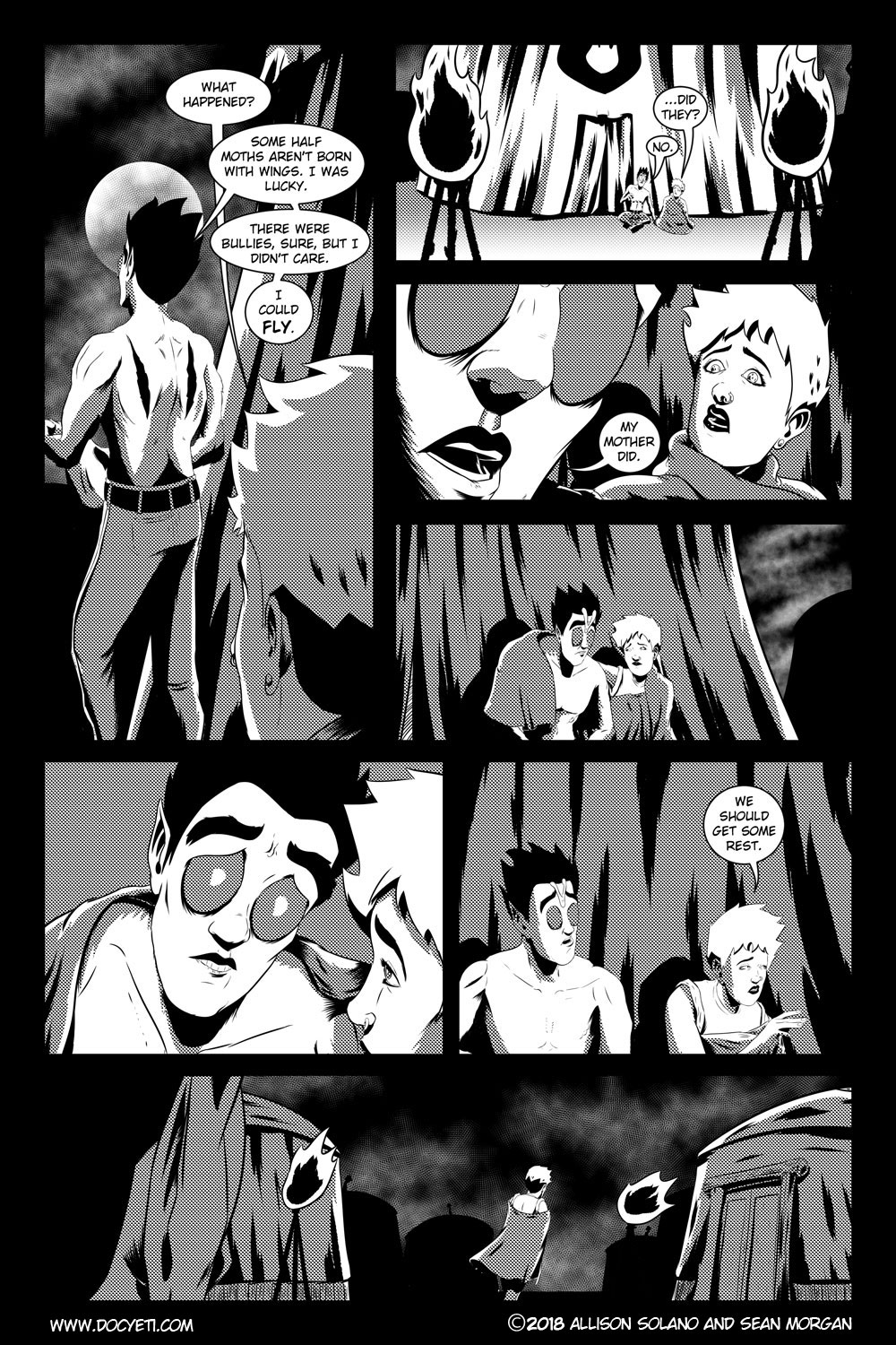 Flight of the Mothman! Issue 3 page 12