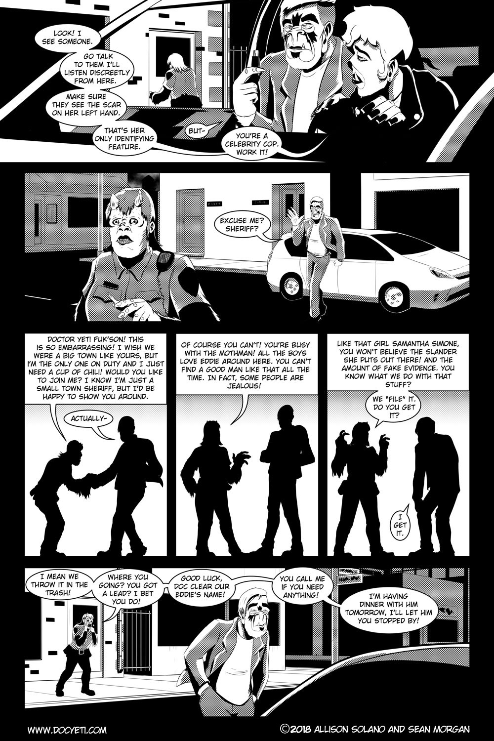 Flight of the Mothman! Issue 3 page 13