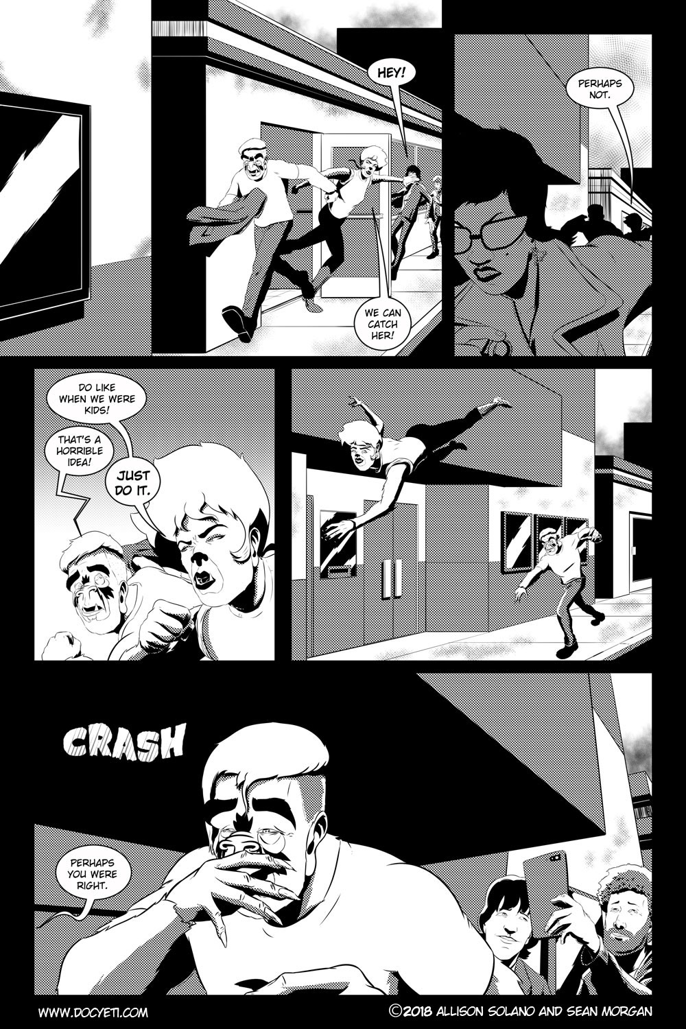 Flight of the Mothman! Issue 3 page 21