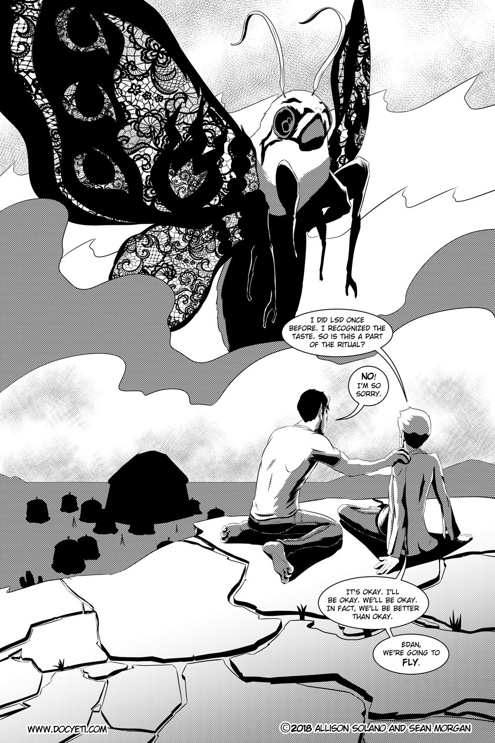Flight of the Mothman! Issue 3 page 23