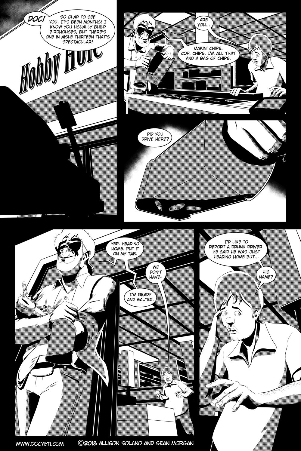 Flight of the Mothman! Issue 4 Page 1