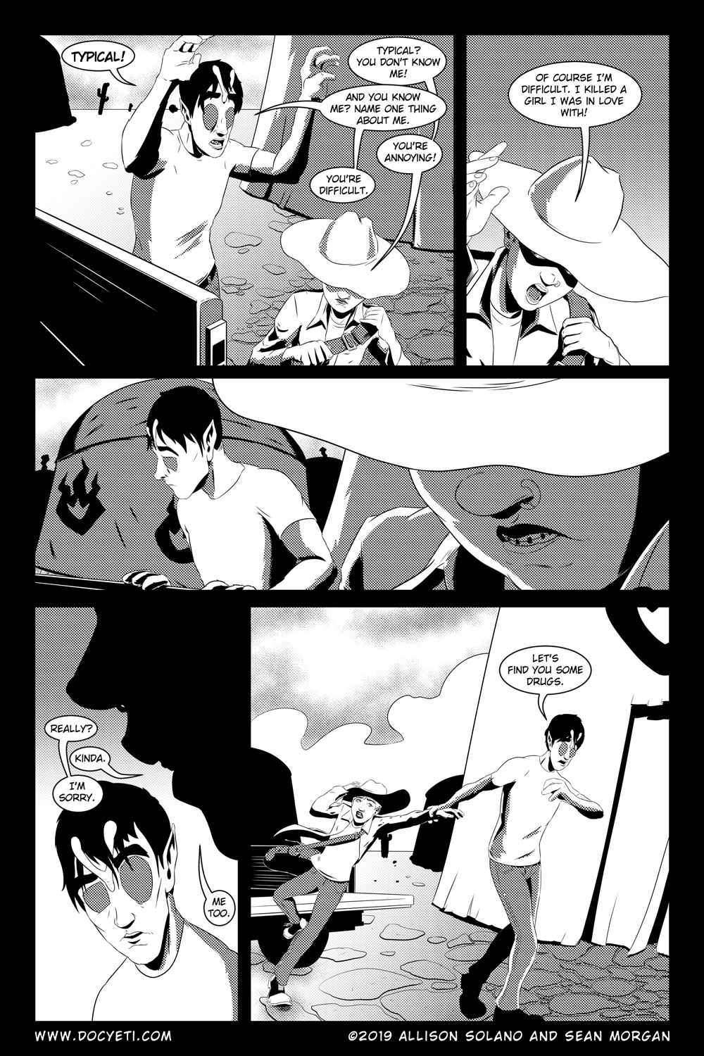 Flight of the Mothman! Issue 5 Page 11