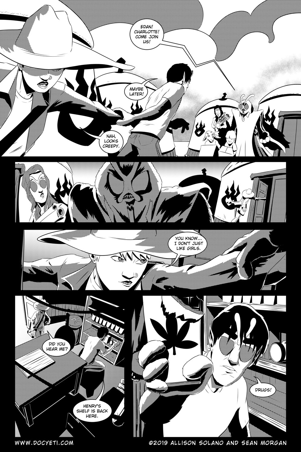Flight of the Mothman! Issue 5 Page 12
