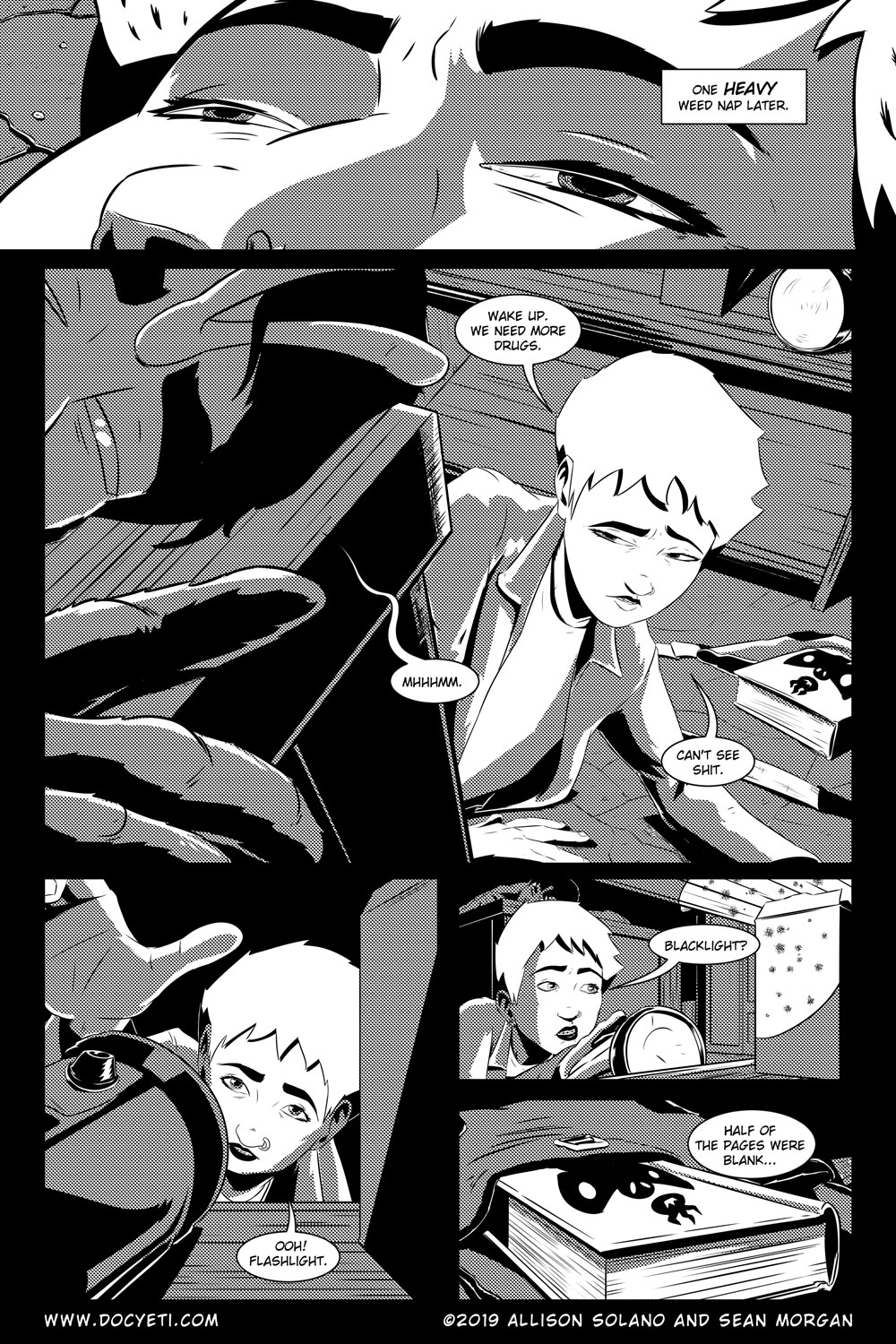 Flight of the Mothman! Issue 5 Page 14