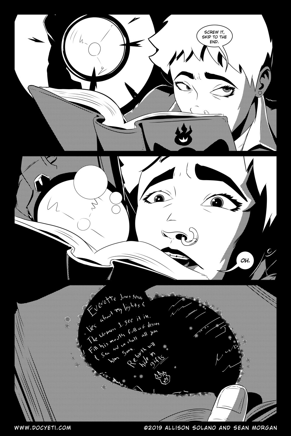 Flight of the Mothman! Issue 5 Page 15