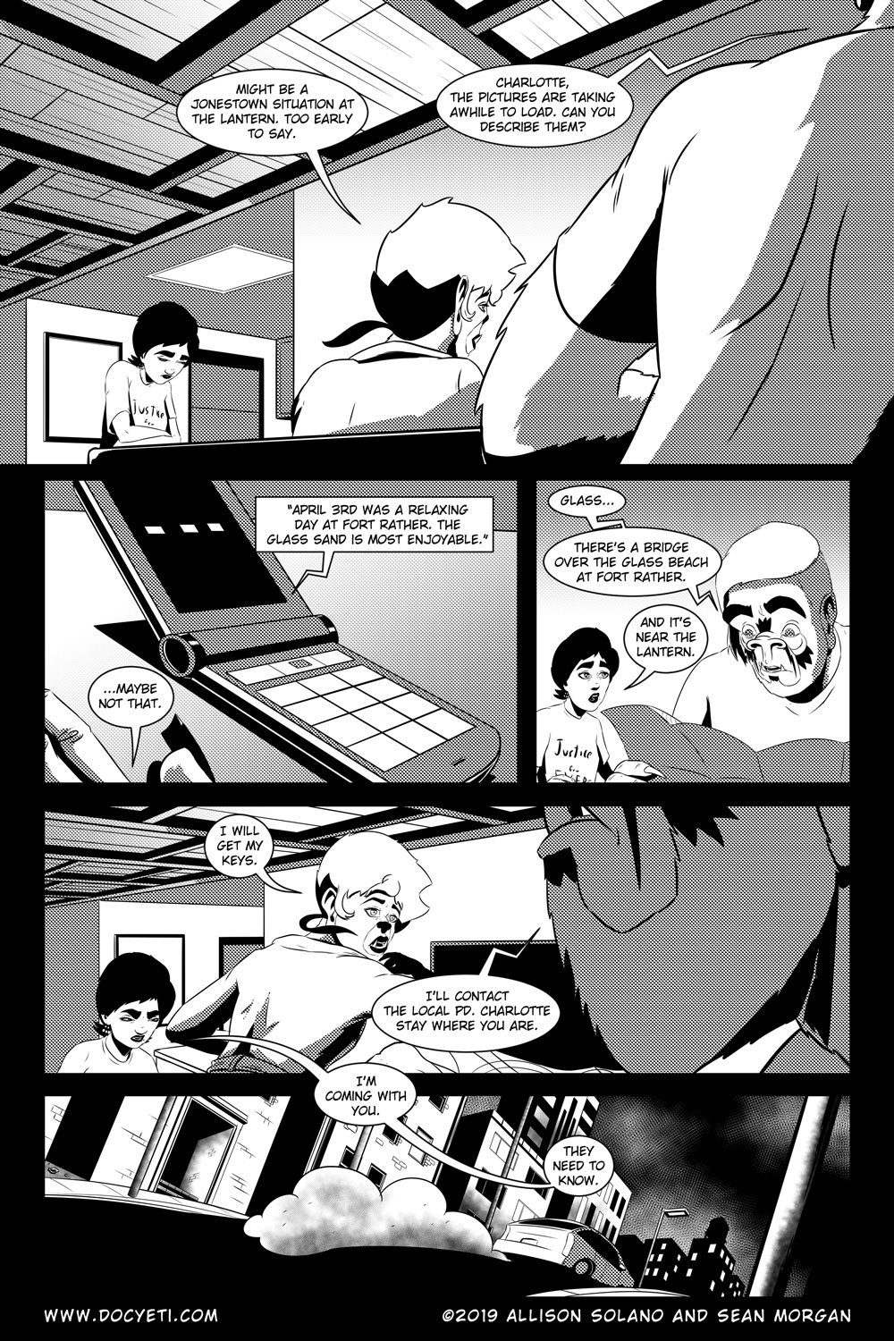 Flight of the Mothman! Issue 5 Page 18
