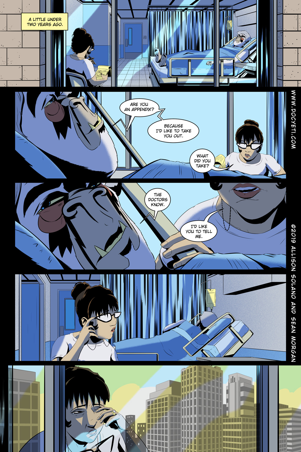 Hungry Eyes! Part 1 Page 1
