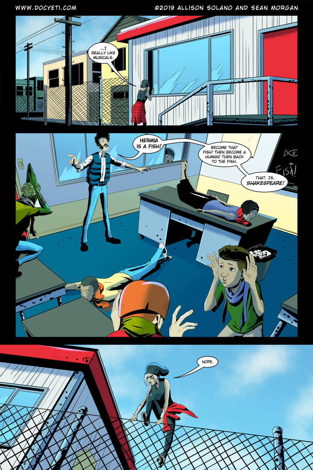 Hungry Eyes! Part 1 Page 5