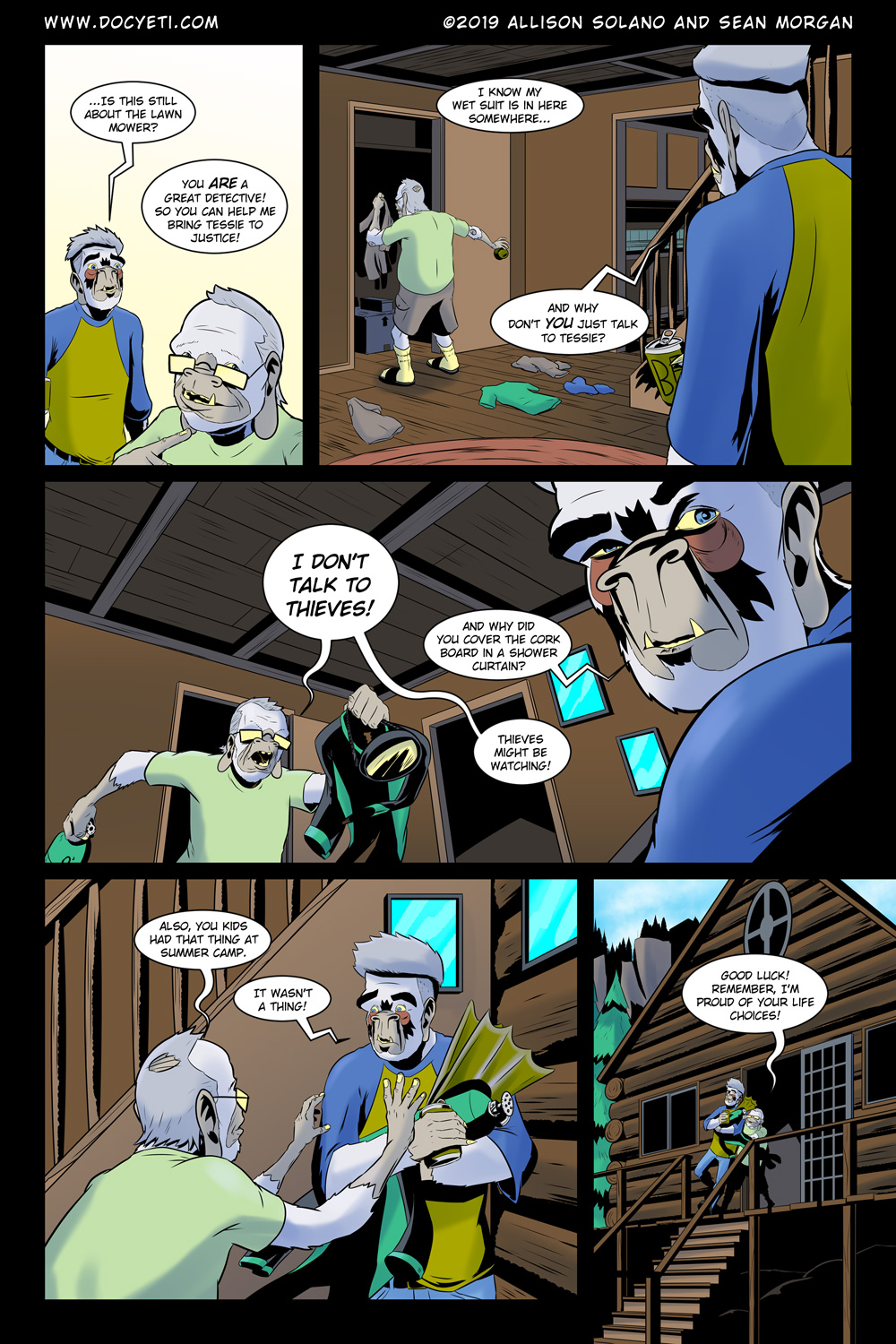 Hungry Eyes! Part 1 Page 7