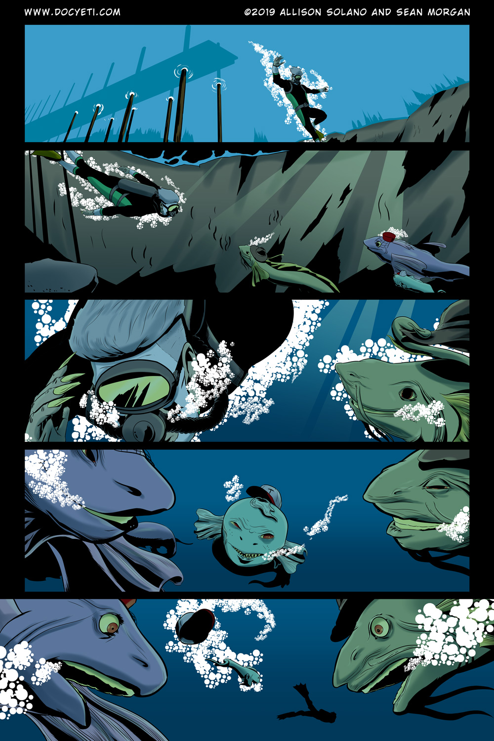 Hungry Eyes! Part 1 Page 9