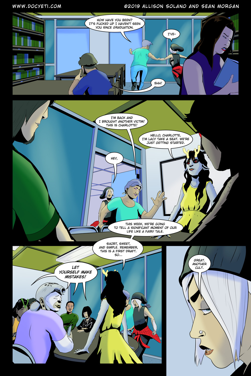 Hungry Eyes! Part 1 Page 15