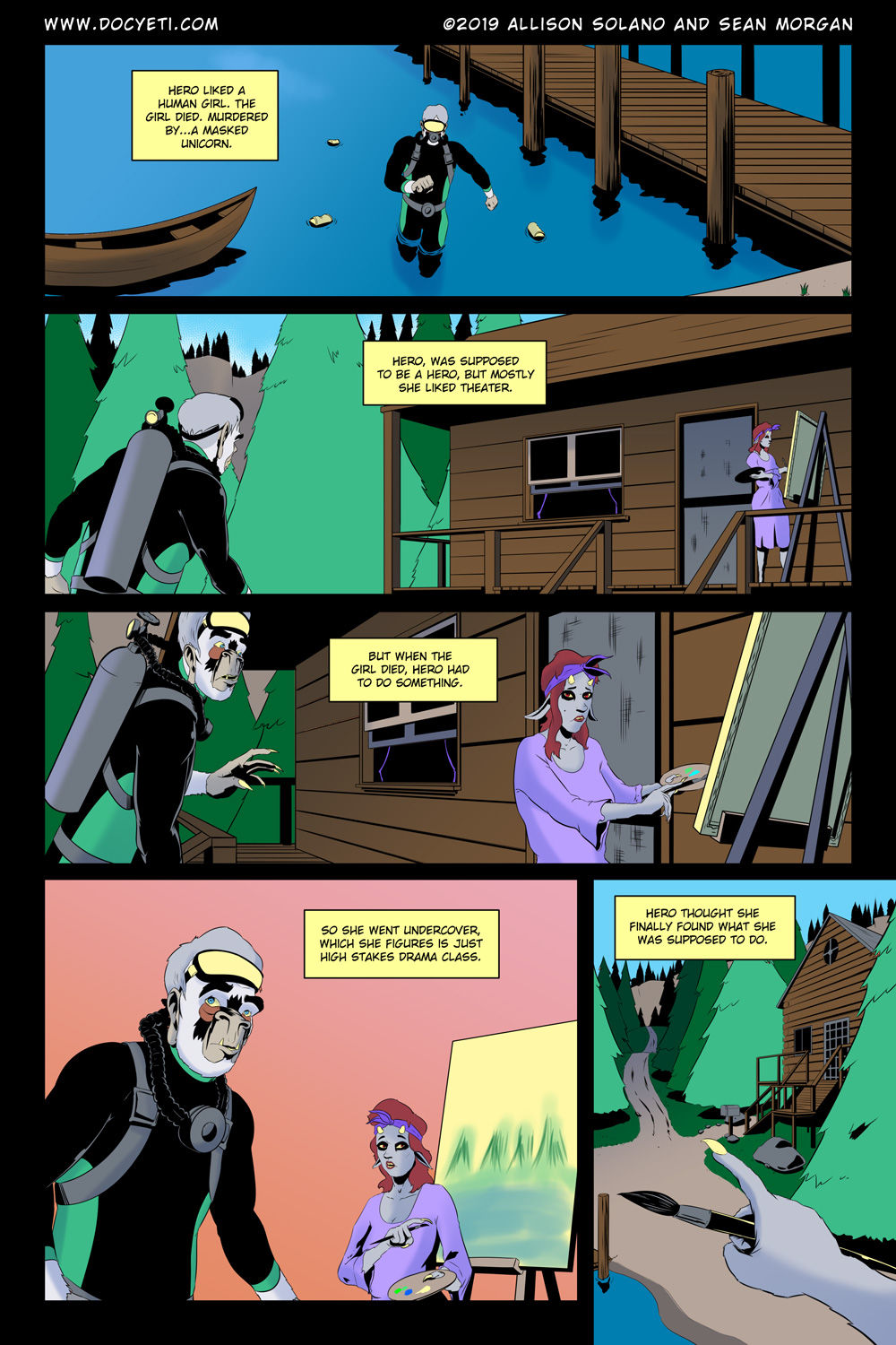 Hungry Eyes! Part 1 Page 19