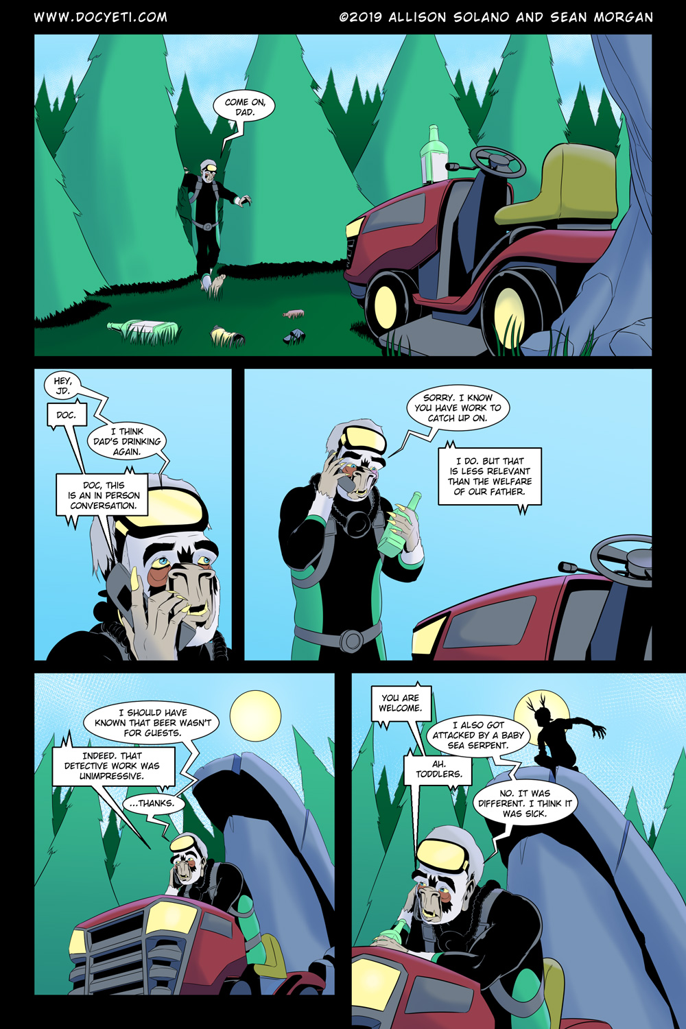 Hungry Eyes! Part 1 Page 21